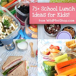 Lunch Ideas for Kids #kidslunchideas #lunchideas #schoollunches