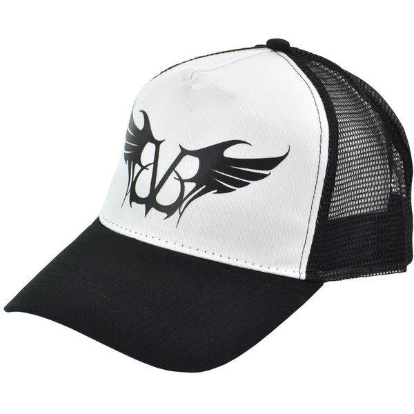 67dfb7d8ec78f Black Veil Brides Logo trucker hat – BVB merchandise – band merch UK ( 45)  found on Polyvore