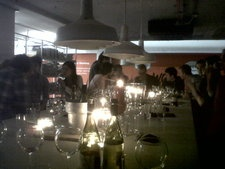 Investor dinner at Google Campus for the EF cohort