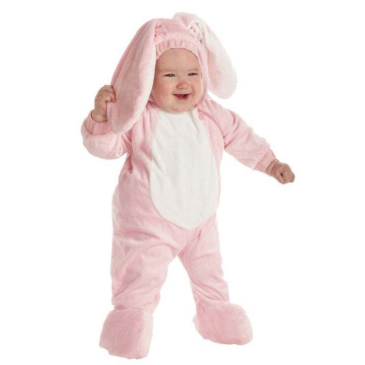 Pink Bunny Halloween Halloween Costume for Toddler