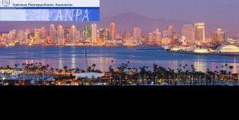 샌디에고 미국 신경정신과학 회의 ANPA 2016 Annual Meeting of the American Neuropsychiatric Association