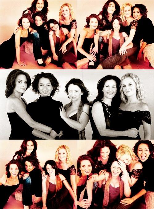A few of the ladies of SNL: Tina, Maya, Rachel, Ana, and Amy.