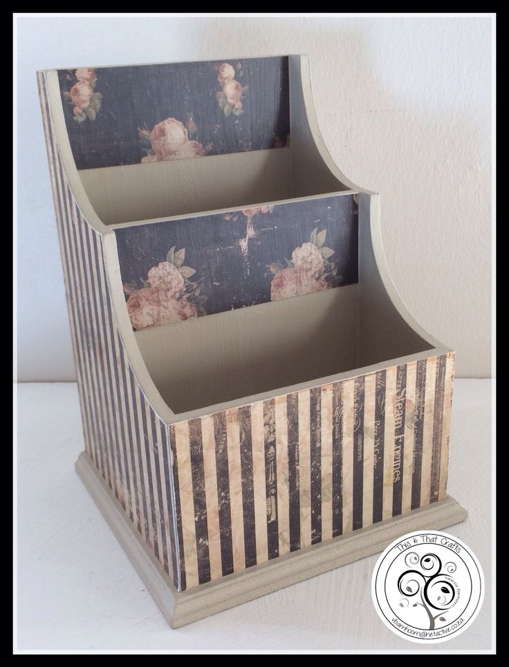 Fancy Item Holder - Vintage Rose Range