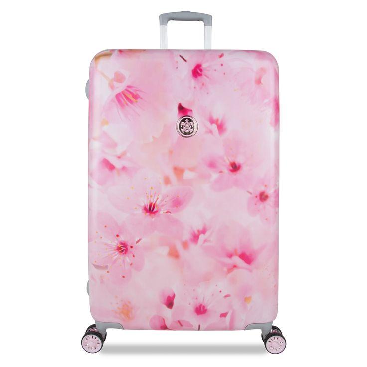 Großer #Reisekoffer SuitSuit #Sakura Blossom bei Koffermarkt: ✓modisches Kirschblüten-Design ✓91 l ✓4 Rollen ✓77x50x28 cm ⇒Jetzt kaufen