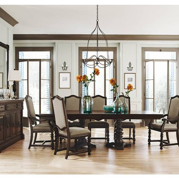 dining room furniture san antonio | Pacific Canyon Dining Table | Bernhardt | Star Furniture ...