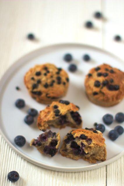 Muffiny Żytnie z Jagodami Just My Delicious