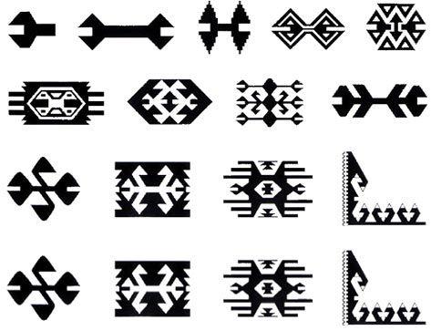 İnsanlar bu motifi, kurtlardan ve canavarlardan korunmak için kullanırlar. Tarih öncesi zamanlarda, insanlar tehlikeli hayvanlardan kendilerini korumak için, bu hayvanları taklit etmenin veya onlara benzer şekiller yapmanın doğru olduğuna inanırlardı.