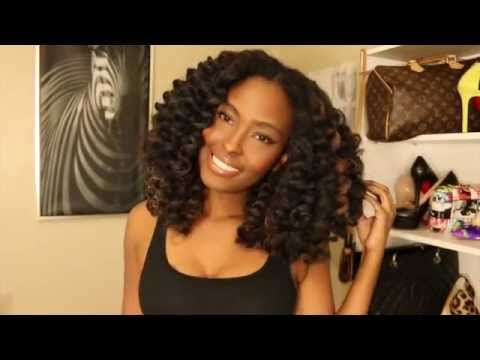 Tutorial:NO crochet braids needed, Get you a BOMB Removable, Super Natural, NO HEAT, hairstyle - YouTube