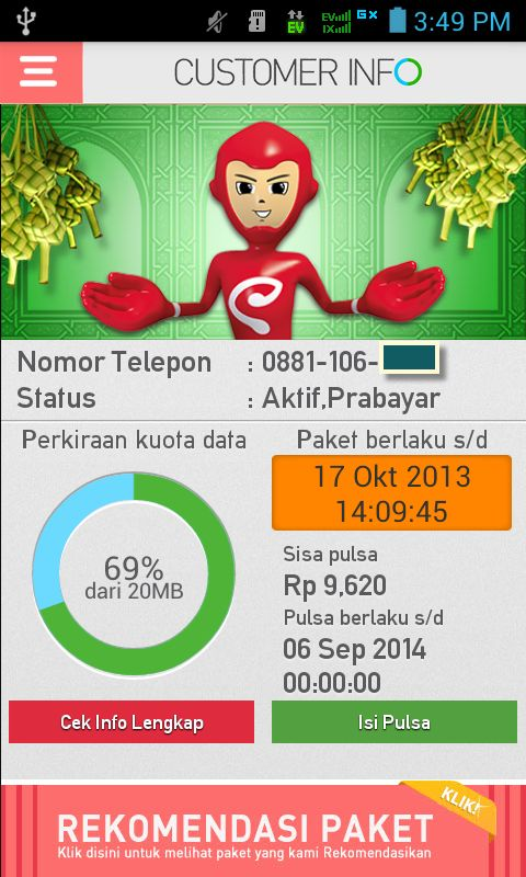 Smartfren Customer Information v4.1.4 apk Download http://bocilandroid.blogspot.com/2014/01/smartfren-customer-information-v414-apk.html