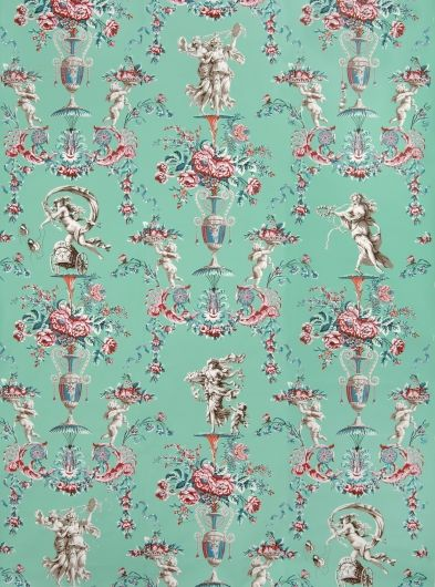 Locust Grove Arabesque wall paper from the original at Locust Grove... http://www.locustgrove.org/