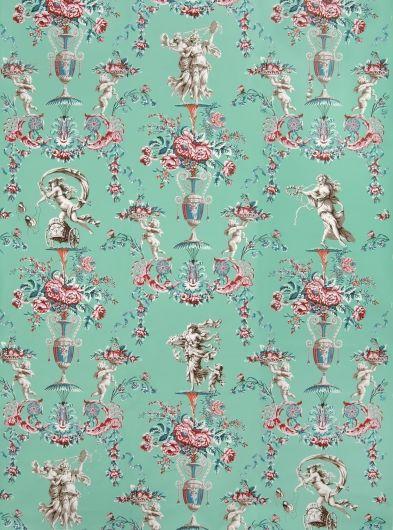 Locust Grove Arabesque wall paper from the original at Locust Grove... http://www.locustgrove.org/