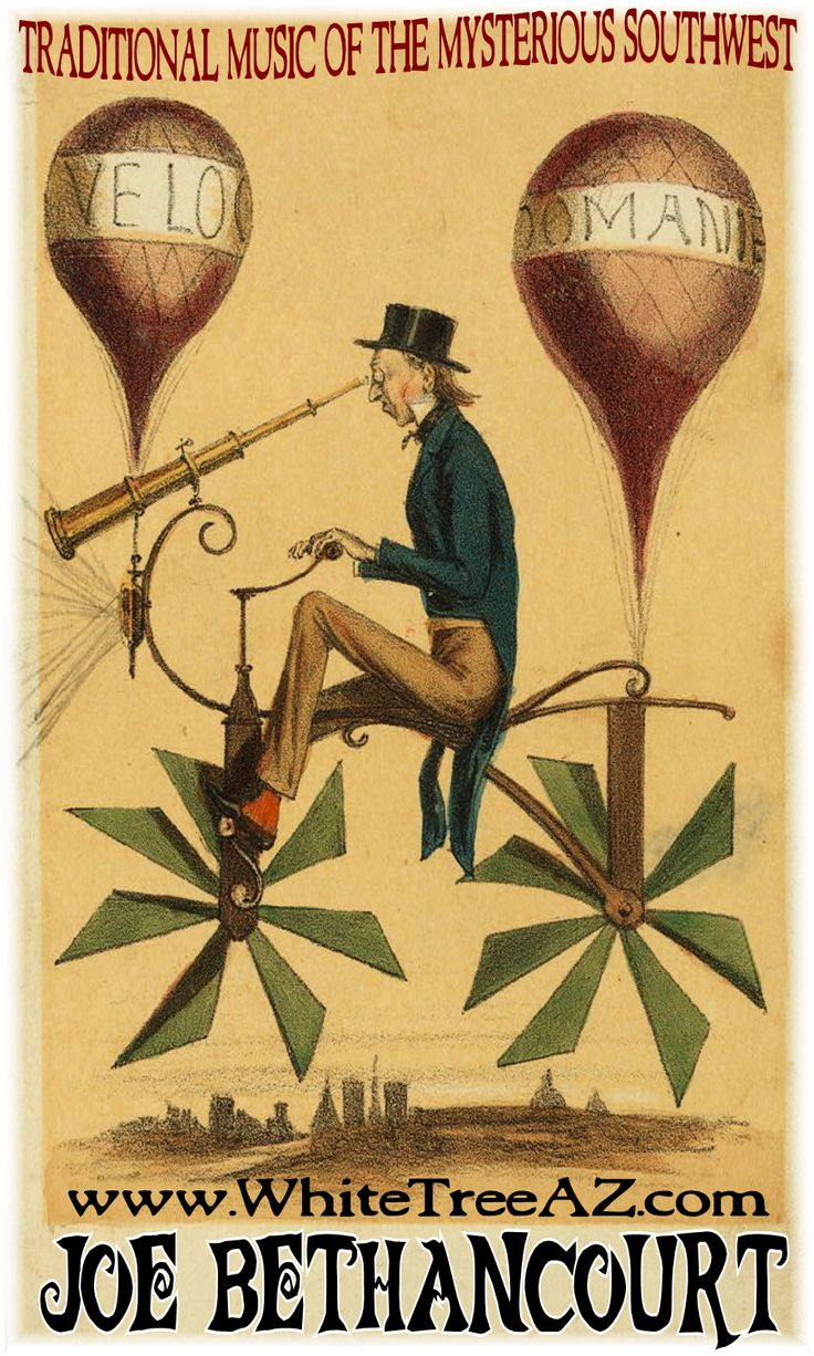 Flying bicycle in this french caricature called voyage a la lune journey to the moon a man rides a bicycle like flying machine while looking