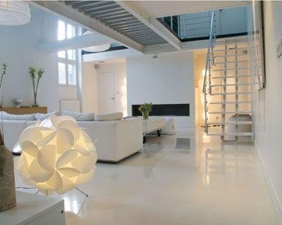 les 25 meilleures id es concernant sol en resine sur pinterest resine pour sol resine sol et. Black Bedroom Furniture Sets. Home Design Ideas