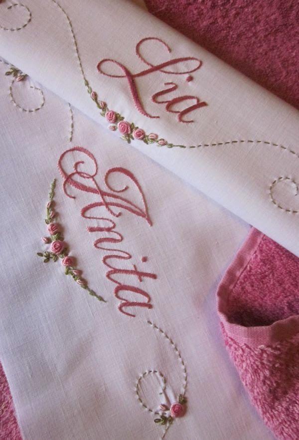 Elisabetta ricami a mano: Corredini nascita e Battesimo
