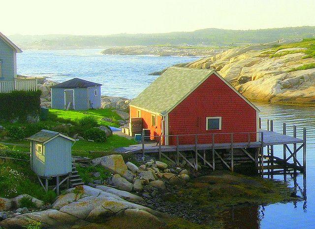 Peggy's Cove, Halifax Regional Municipality, Nova Scotia, Canada, 2006, photograph by Jen Pinker.