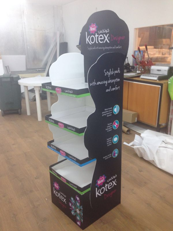 Corrugated display stands for the FMCG industry   Some of our jobs ...