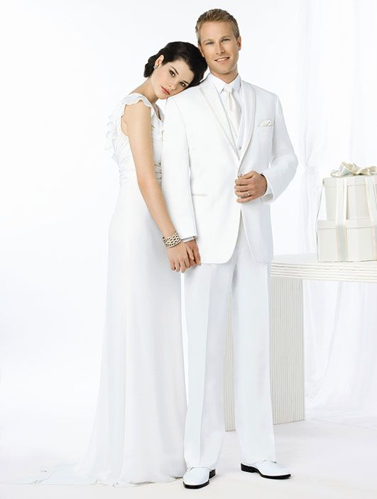 Thomas & Sons Tuxedos & Suits White LaStrada