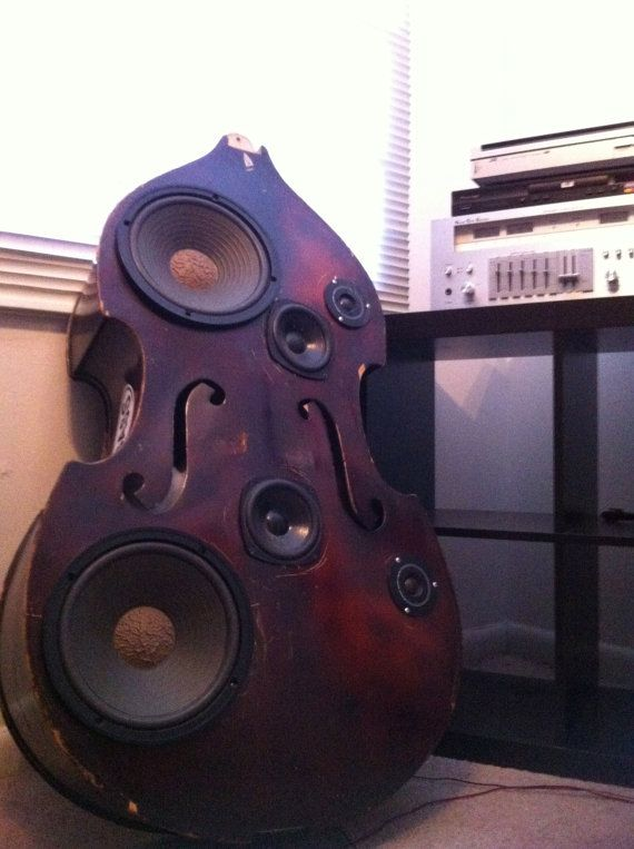 Upright Bass Speaker Box...AWESOME!