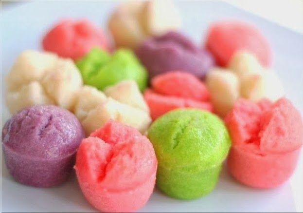 Resep Kue Apem Kukus Dan Cara Membuat Kue Apem Kukus Enak Mudah berisi Aneka Bahan-bahan Kue Apem Kukus dari Resep Apem Tepung beras Gula Merah Kuah lezat