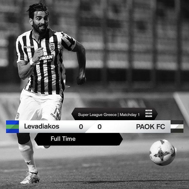 #LEVPAOK 0-0 #SuperLeague