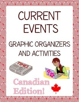 This set of 13 graphic organizers and four activities will help differentiate current events topics and give the teacher and student a broad range of choice when choosing news stories to research.
