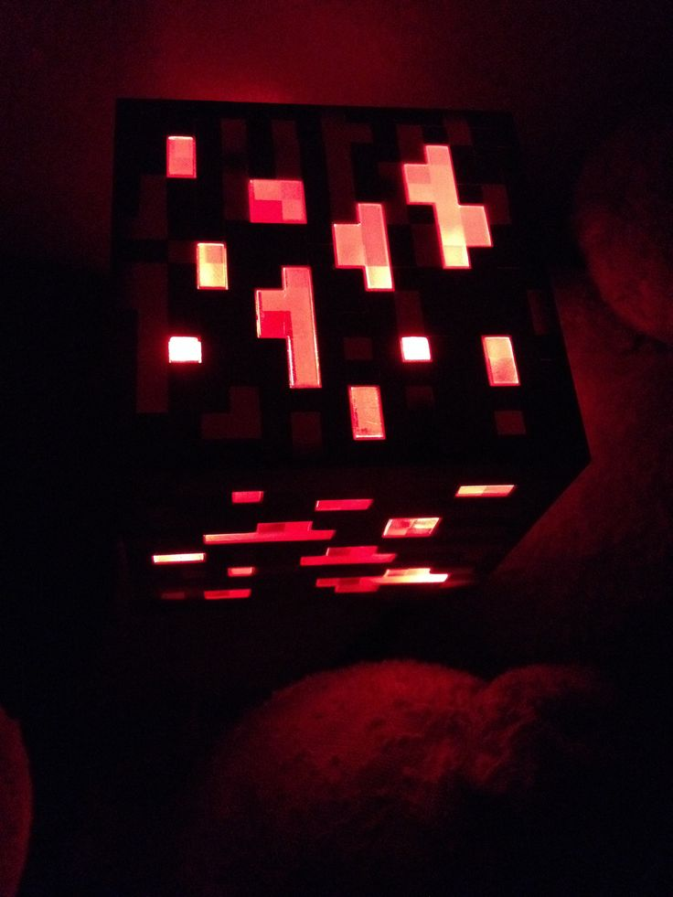 Minecraft Redstone Ore Light