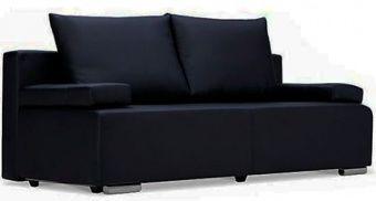 Диван Плей 4 Luxe черный