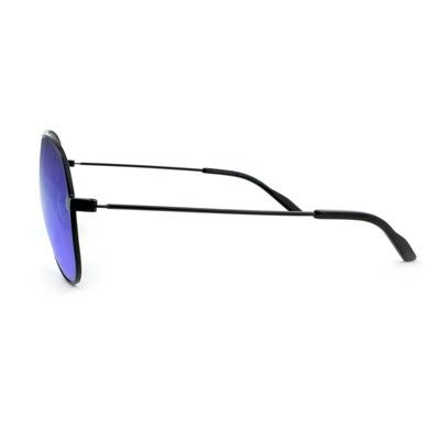 76e25c0a6a53 Women s Aviator Sunglasses with Blue Lenses - Wild Fable Black ...