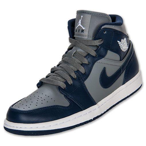 Men S Air Jordan Retro  Mid Retro Basketball Shoes White