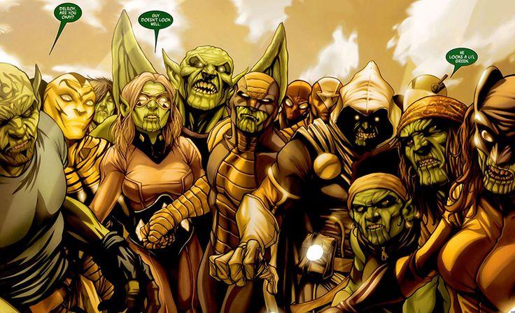 James Gunn Falou Sobre Participação dos Skrulls nos Filmes da Marvel