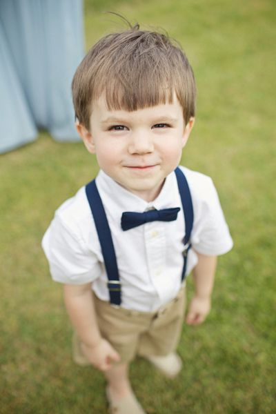 adorable ring bearer | Happy Everything Co #wedding