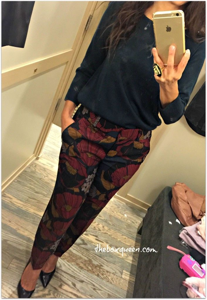 Best of Loft Style _ Love these printed pants