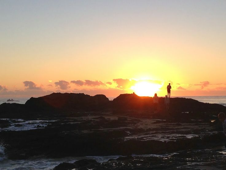 Sunrise at Currumbin