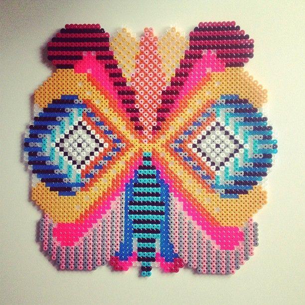 Hama perler bead art by Saraseir