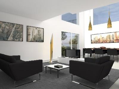 #Decoracion #Contemporaneo #Comedor #Sala de la TV #Sala de estar #Sillones #Sillas #Mesas de centro #Mesas de comedor #Dibujos #Plantas