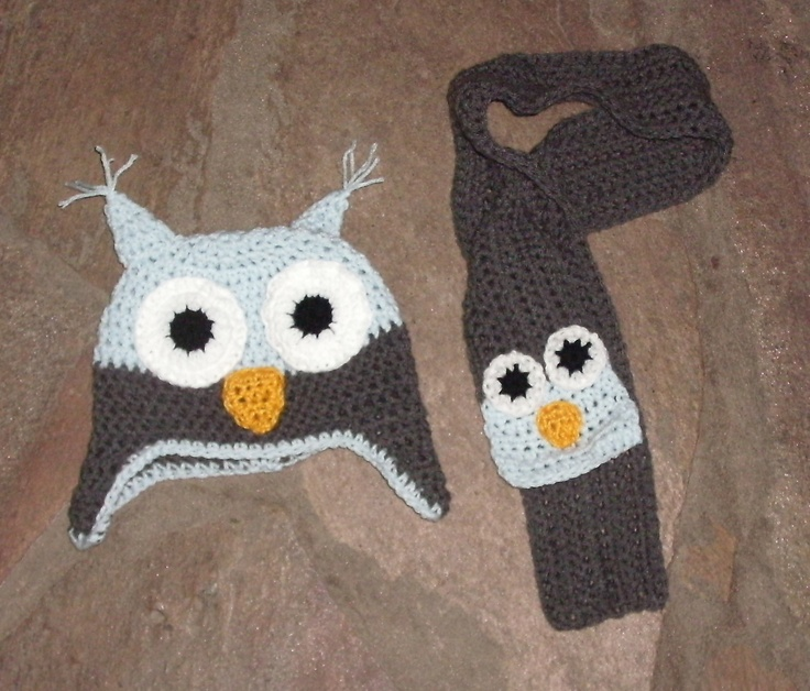 Gorros y bufandas on Pinterest