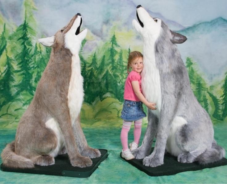 Giant Wolf Stuffed Animal