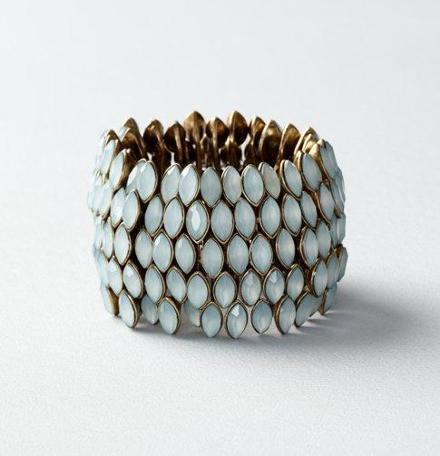 PrettyCuffs Bracelets, Cast Stones, Stretch Bracelets, Loft Jewelry, Style, Accessories Galore, Green Cast, Stones Stretch, Pretty Bracelets
