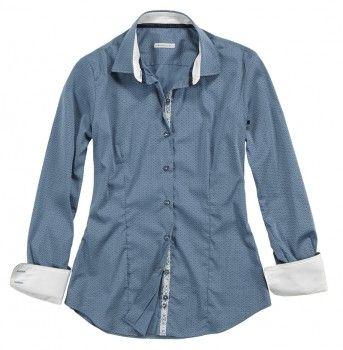 Camicia a tinta celeste scuro con tessuto interno sulle maniche e sul colletto bianco. Seguici anche su                           www.redisrappresentanze.it