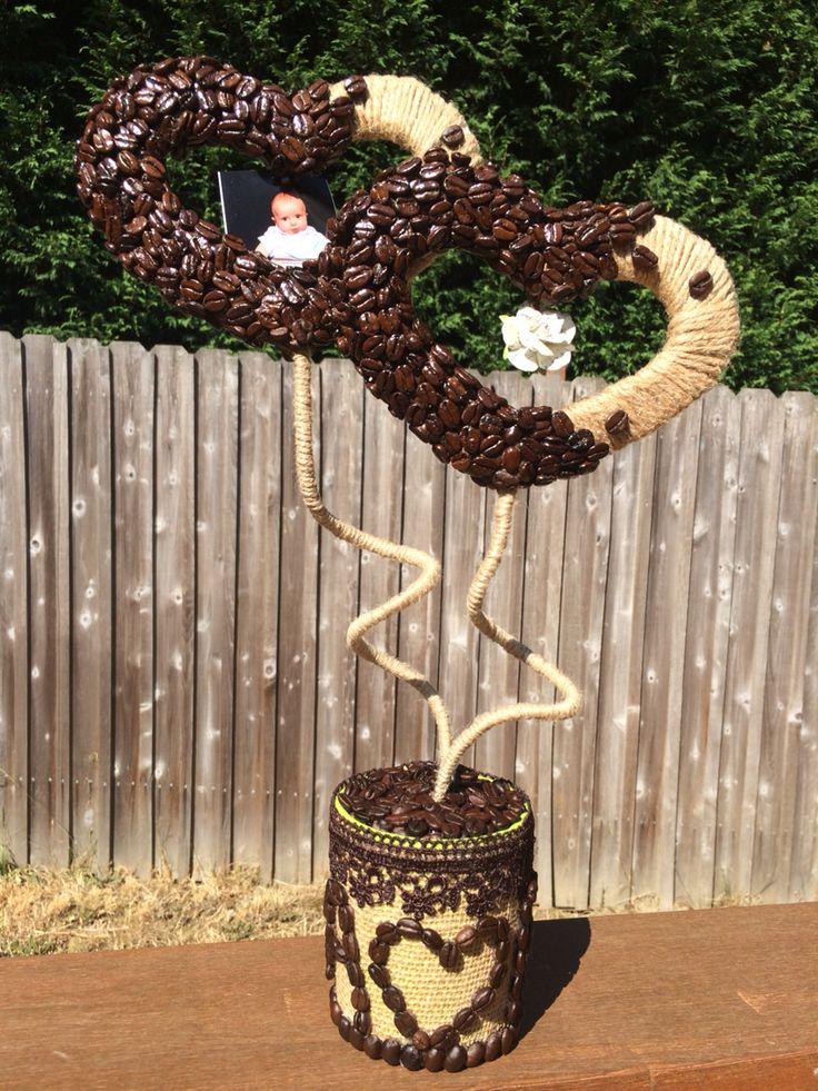 Coffee Topiary! Handmade.