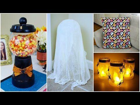 GLOW IN THE DARK PUMPKIN - Halloween DIY - Easy No Carve Pumpkins How To - YouTube