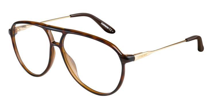 Gafas graduadas con montura aviator de Carrera...#EyeWear