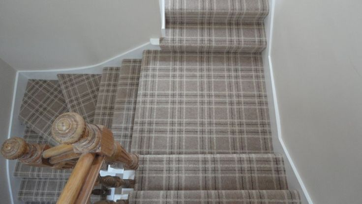 tartan stair carpet