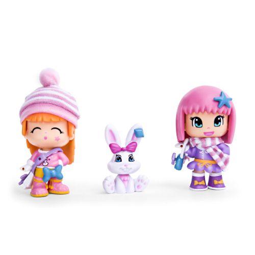 Игровой набор Пинипон Северный полюс: 2 фигурки + заяц + аксессуары - купить в интернет-магазине Фестиваль Игрушек=661