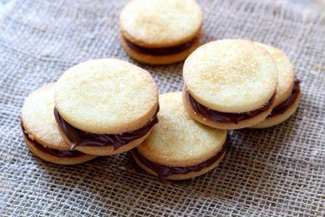 Receita passo a passo: como fazer biscoitos amanteigados com Nutella
