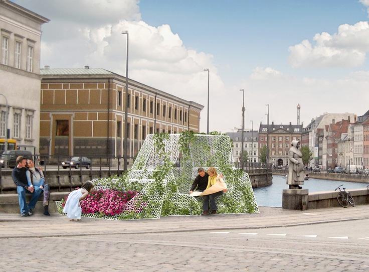 Copenhagen Pocketpark   Architecture/Spatial Design