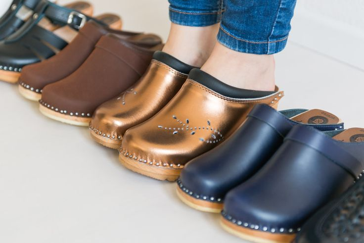 Troentorp clogs in various styles