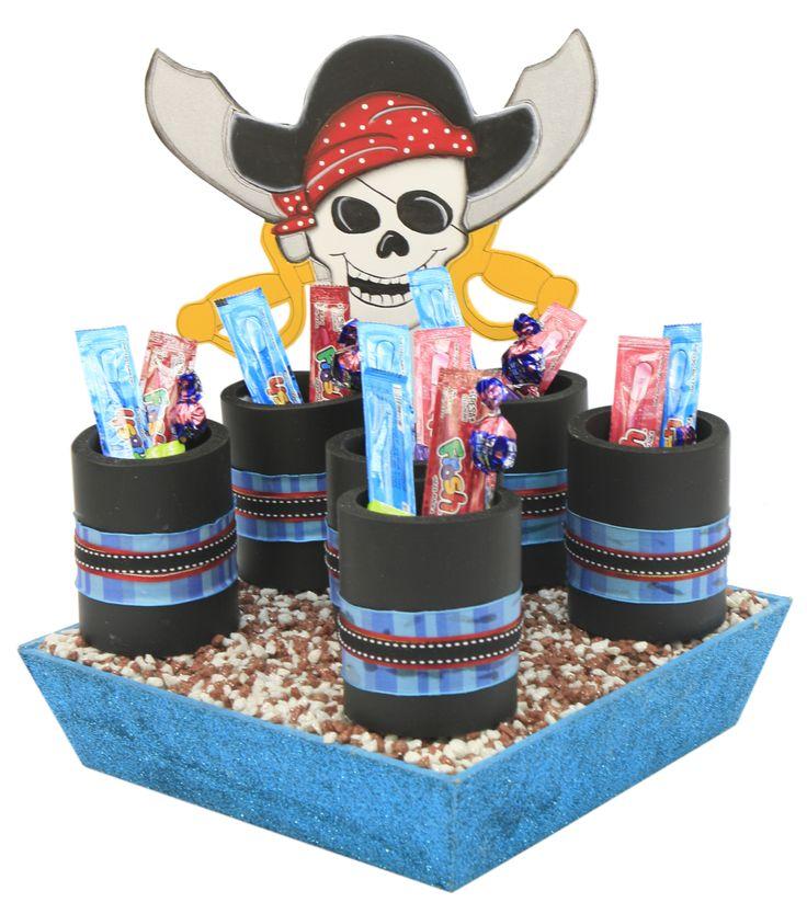 Despachador de dulceros dulceros para fiestas infantiles - Imagenes de piratas infantiles ...
