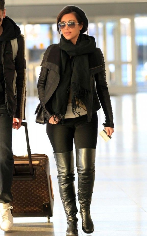 20 best Brown over the knee boot images on Pinterest