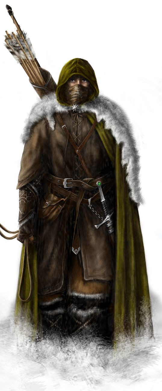A ranger of the north. The last remnants of the lost Kingdom of Arnor.